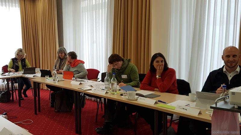 Treffen der BDÜ-Öffentlichkeitsarbeiter Bundesverband + 13 Mitgliedsverbände, ©Réka Maret