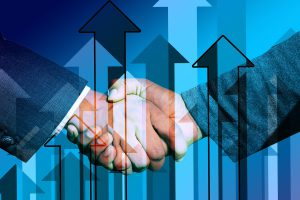 Business Handshake (CC0 Pixabay/Geralt)